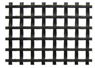 Chiny Warp Knitted Polyester Geogrid Black for Runway / Railway Foundation fabryka