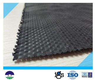 Chiny UV Resistant Black Geotextile Woven Fabric For Reinforcement Fabric 460G dystrybutor
