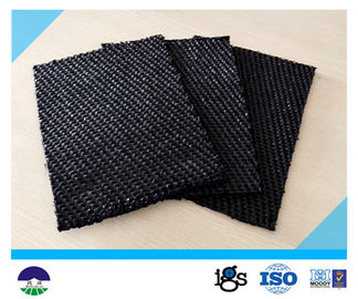 Chiny 80 / 80kN Black Dewatering Woven Monofilament Geotextile High - Tenacity dystrybutor