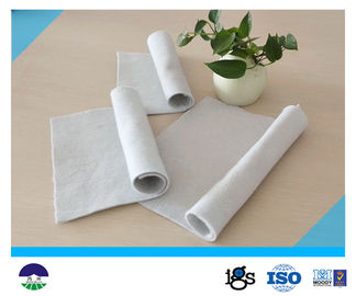 Chiny Staple Fiber Needle punched Geotextile Drainage Fabric 800G For Reinforcement Base dystrybutor