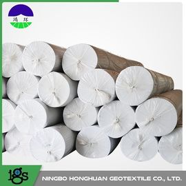 Chiny Environmental Needle Punched Non Woven Geotextile Fabric 13.0kN/M Tensile Strength dystrybutor