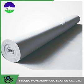 Chiny PET / PP Filament Non Woven Geotextile Fabric 600GSM High Water Flow Rates dystrybutor