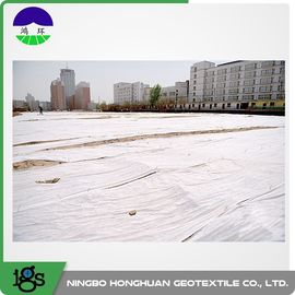 Chiny Polyester Non Woven Geotextile Fabric 200g/M² Staple Fiber Geotextile Drainage Fabric dystrybutor
