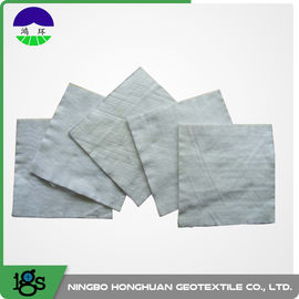 Chiny 100% Polyester Continuous Filament Nonwoven Geotextile Filter Fabric Grey Color dystrybutor